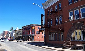 Lancaster, New Hampshire - Main Street