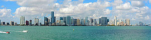 Downtown Miami Panorama from the Rusty Pelican photo D Ramey Logan.jpg
