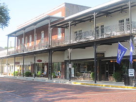 Downtown Natchitoches showing the brick streets IMG 1916.JPG