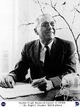 Dr. Hugh L. Dryden seated at desk (4940324481).jpg