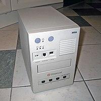 Una unidad de desarrollo para la Dreamcast.  En esta se podía utilizar tanto el kit de desarrollo de sega como el kit de desarrollo Windows CE