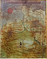 Dried Up Cataract, by Paul Klee, 1930, watercolor on primed canvas - Busch-Reisinger Museum - Harvard University - DSC01651.jpg