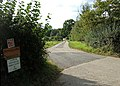 Driveway to Lower Fifehead Dairy Farm - geograph.org.uk - 560134.jpg