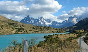 Driving Beside Rio Paine, Torres del Paine National Park, Chile.jpg