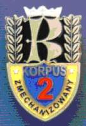 2nd Mechanised Corps (Poland) - Corps Badge