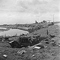 Duitse geschutsopstelling aan de Kop van de Afsluitdijk na de verovering door de, Bestanddeelnr 900-2675.jpg