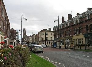 Duke Street, Barrow-in-Furness - Duke Street looking towards Barrow Town Hall