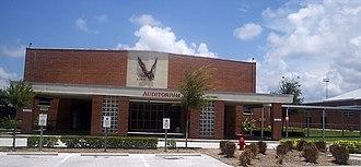 Dunedin, Florida - Image: Dunedin, Florida High School pmr 01