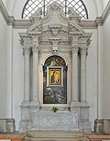 Duomo (Padua) - Madonna dei Cechi, pala d'Antonio Buttafogo y Stefano Dell'Arzere.jpg