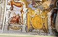 Duomo di viterbo, interno, coro dei canonici, con affreschi di giuseppe passeri, 1683, 05.jpg