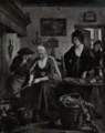Dutch Painting in the 19th Century - De Lelie - Woman making Cakes.png