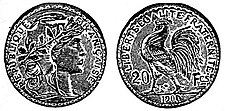 EB1911 Numismatics - French 20 francs.jpg