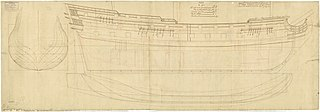 1745 ship of the line of the Royal Navy