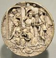 Early 16th century ivory carving of the Adoration of the Maji from the upper Rhine region of Germany or Holland, HAA.JPG