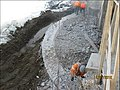 East Brookfield, Route 9 Bridge, Dam Construction (5577072553).jpg