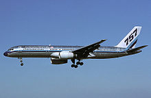 boeing 757 wikipediaservice entry and operations
