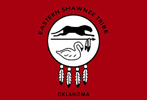 Eastern Shawnee Tribe of Oklahoma - Tribal flag