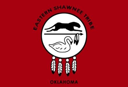 Eastern shawnee flag