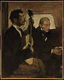 Edgar Degas - Degas's Father Listening to Lorenzo Pagans Playing the Guitar - 48.533 - Museum of Fine Arts.jpg