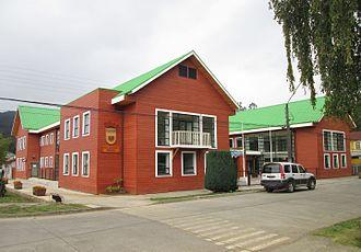 Contulmo - Contulmo Town Hall