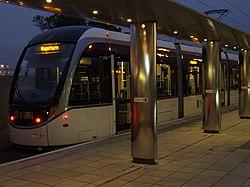 Edinburgh Airport tram station (geograph 4176495).jpg