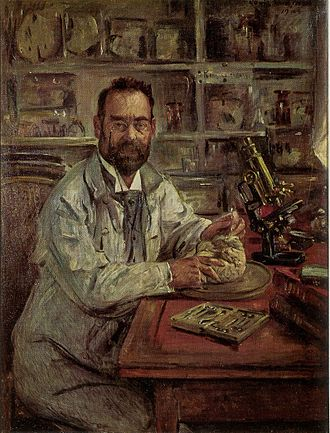 Worms, Germany - Ludwig Edinger painted by Lovis Corinth