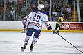 Edmonton Oilers Rookies vs UofA Golden Bears (15088653410).jpg
