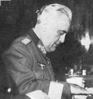 Edmund Glaise-Horstenau - Glaise-Horstenau, 1944