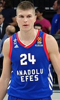 Slovenian professional basketball player