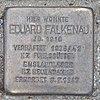 Stolperstein für Eduard Falkenau