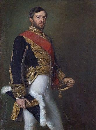 Diplomatic uniform - Sir Edward Malet wearing the old-style Ambassador's uniform