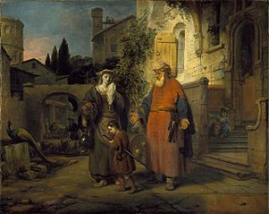 The Expulsion of Hagar and Ishmael