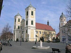 Gyöngyös - Baroque Church of Saint Bernard of Gyöngyös