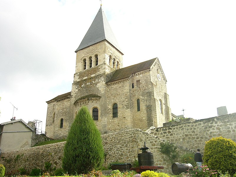 Église de Sacy (à côté de reims)