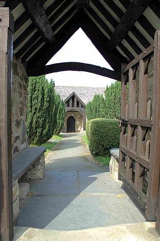 Tremeirchion - Image: Eglwys Corpus Christi, Tremeirchion Sir Ddinbych Church Denbighshire, North Wales 19
