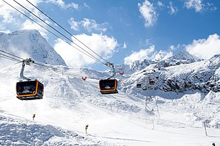 Tricable gondola lift Cable car system
