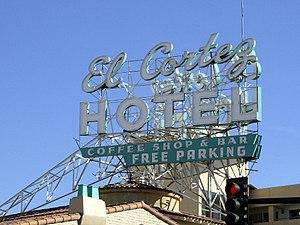 El Cortez (Las Vegas) - Image: El Cortez famous sign