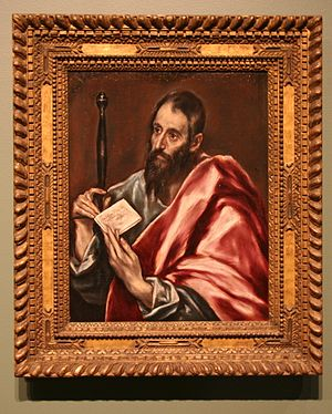 History of the Jews in Greece - Paul of Tarsus by El Greco.