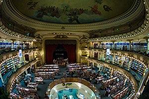 El Ateneo Grand Splendid bookstore - Buenos Aires, Argentina - 5 Jan. 2015