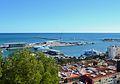 El port de Dénia vist des del castell.JPG