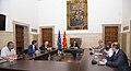 El vicepresident del Govern, Pere Aragonès, es reuneix amb una delegació d'eurodiputats de l'Aliança Lliure Europea.jpg