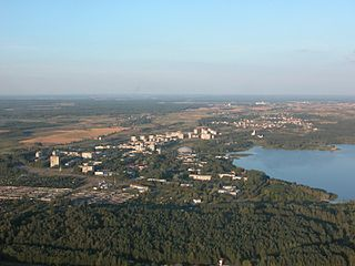 Elektrėnai City in Dzūkija, Lithuania