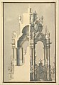 Elevation and Section for a Catafalque for the Dauphin of France, d. 1711 MET DP820117.jpg