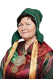 Elisabeth Erke Norwegian Sami educator and politician