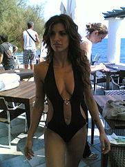 modelo de galería libre de bikini