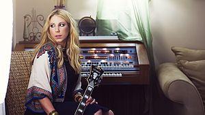 Elise Testone - Elise Testone in the studio