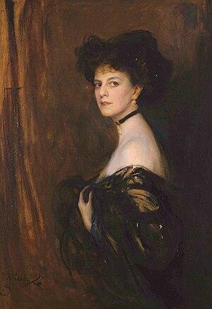 Élisabeth, Countess Greffulhe - Portrait by Philip de László in 1905