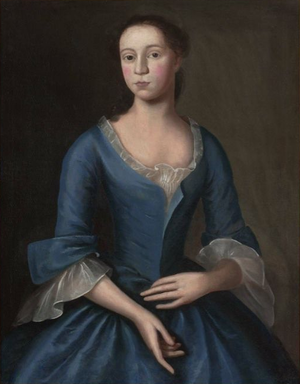 Joseph Badger - Image: Elizabeth Storer ca 1746 by Joseph Badger MFA Boston