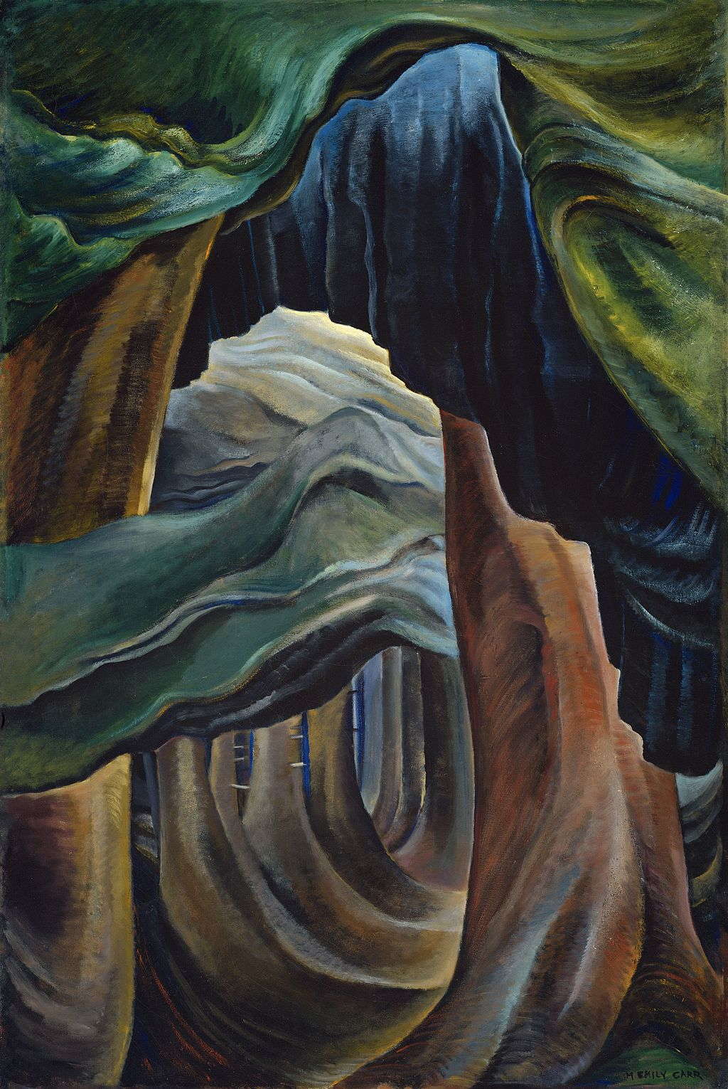 Emily Carr (1931–32) Forest, British Columbia