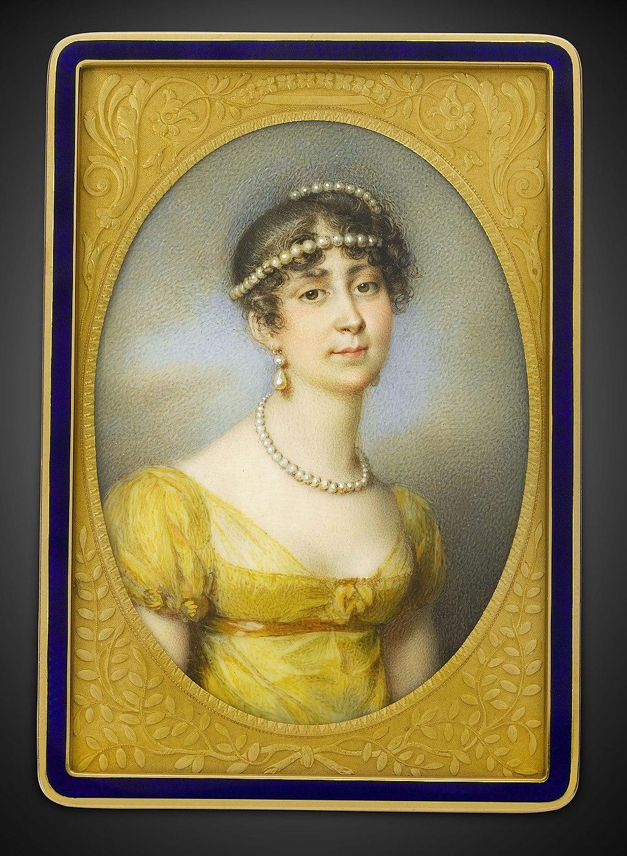 Empress Josephine Portrait Gold Box